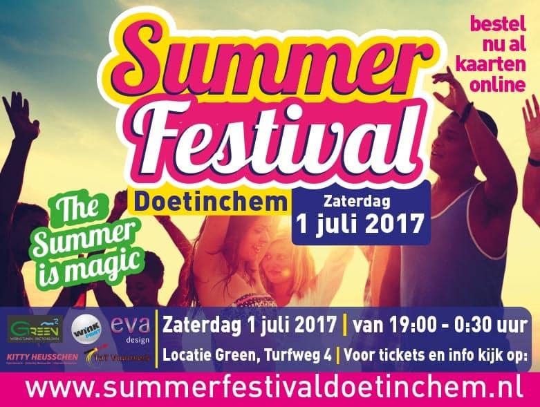 Summer festival entreekaart