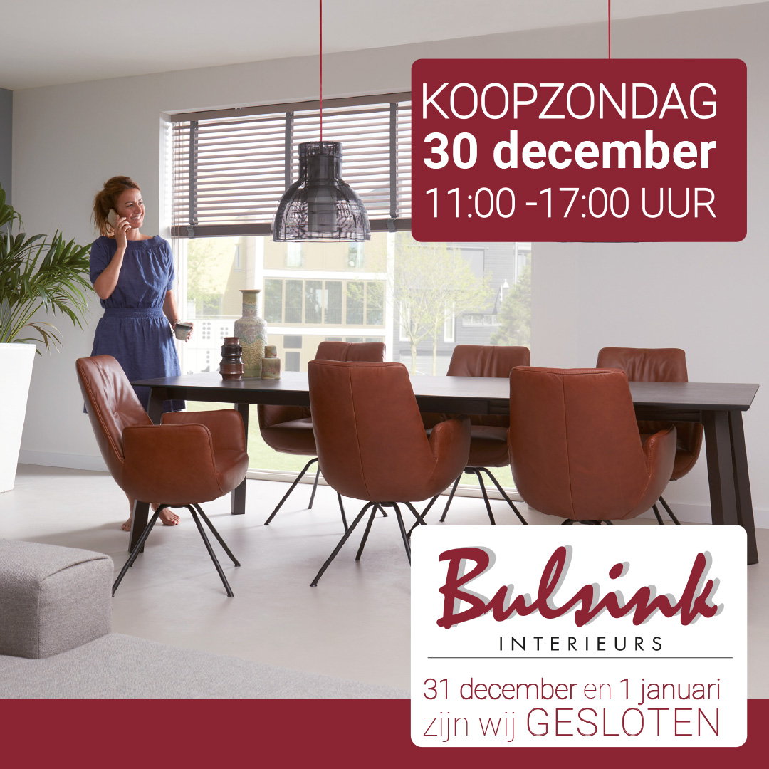 Bulsink advertentie