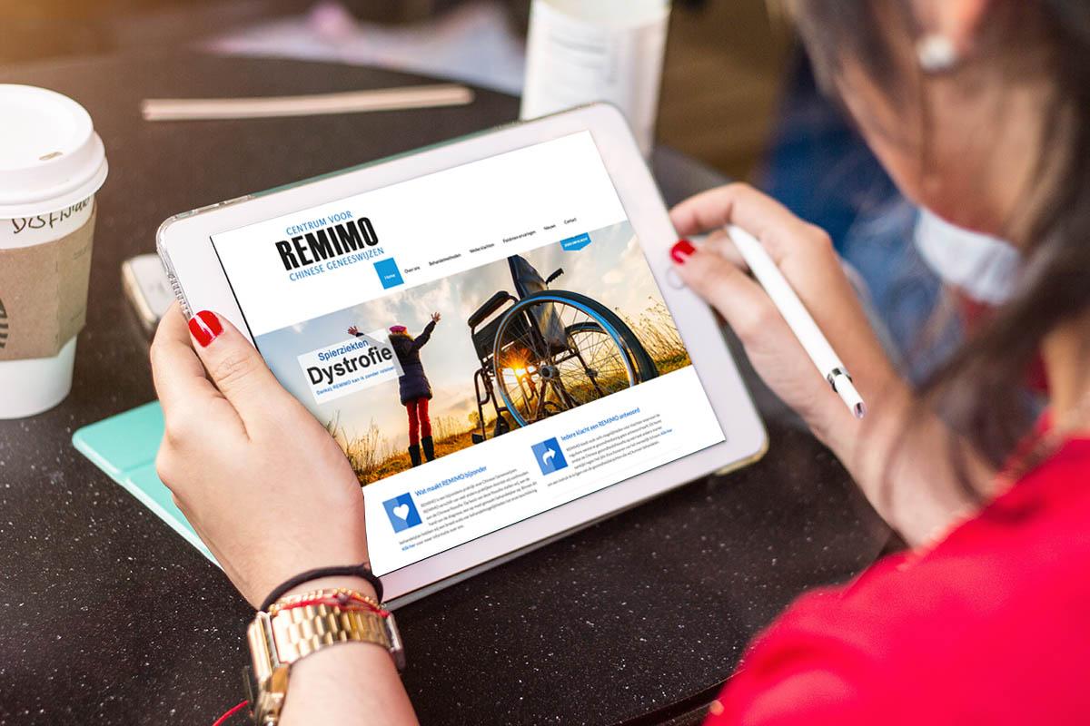 webiste Remimo.nl
